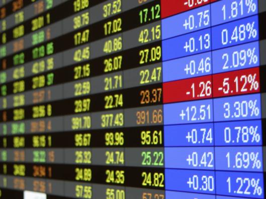 Les chiffres de la bourse
