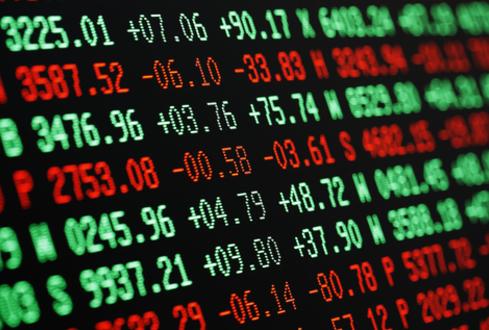 Variation des cours boursier