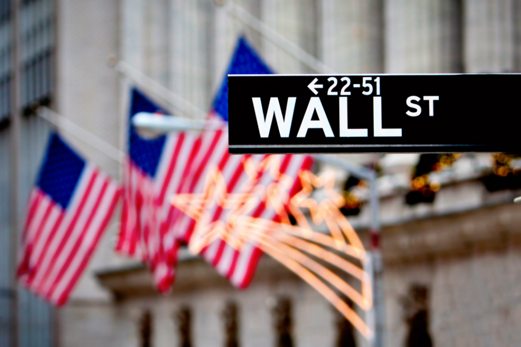 Magnifique photo de wallstreet