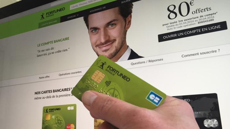 Banque en ligne fortuneo