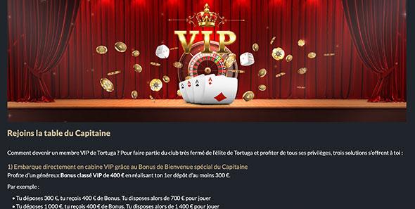 Club VIP de Tortuga Casino