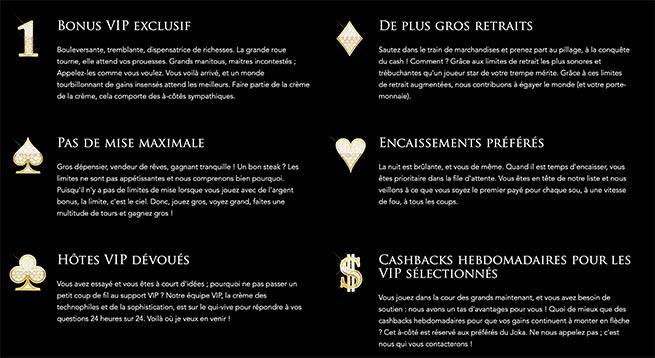 Club VIP Joka Casino