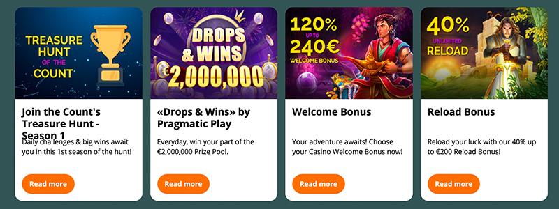 montecryptos casino promotions online