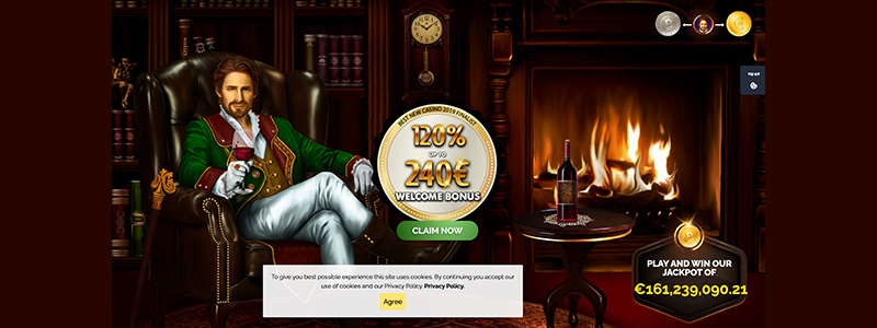 monte cryptos casino online interface